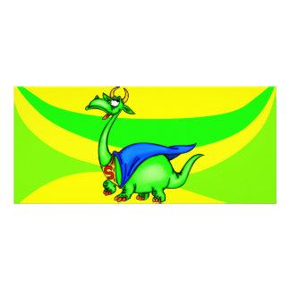 Dragão super 10.16 x 22.86cm panfleto