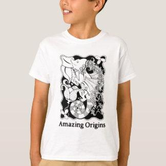 Dragão surpreendente das origens camiseta