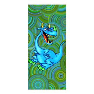 Dragão temível 10.16 x 22.86cm panfleto