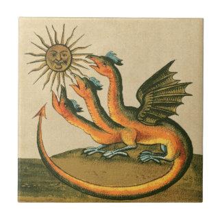 Dragões da alquimia de Clavis Artis