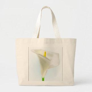 drawin dos desenhos animados da flor do calla da bolsa para compras