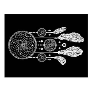 Dreamcatcher - cartão (preto)