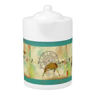 Dreamy Camel Carnival Teapot