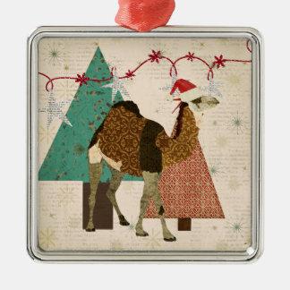 Dreamy Camel Starry Night Ornament