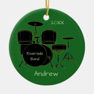 Drumset personalizou o ornamento