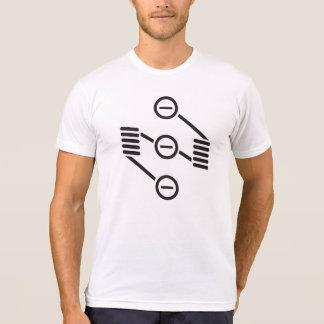 Dual a camisa do logotipo T da bobina RDA Vape