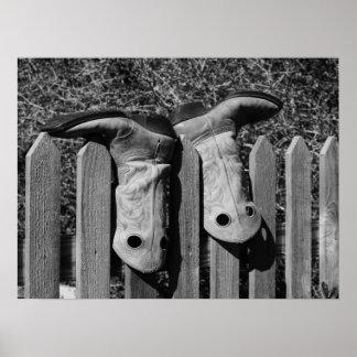 Duas botas pôsteres