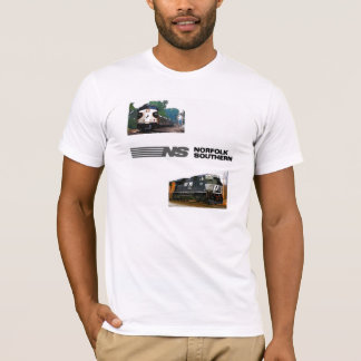 Duas locomotivas do sul de Norfolk Camiseta