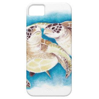 Duas tartarugas de mar capas para iPhone 5