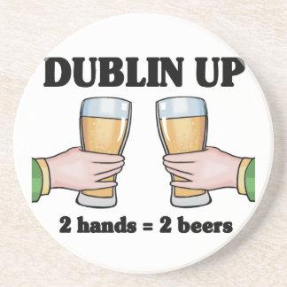 Dublin acima das portas copos porta copos de arenito
