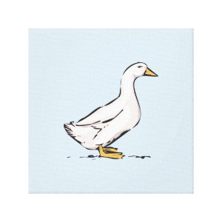 """Duck a arte 12"""" das canvas dos azuis bebés X12"""","""