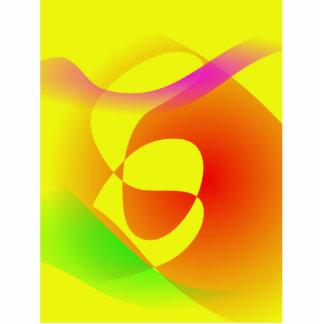 Duna amarela escultura foto