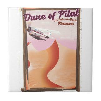 Duna de Pilat, cartaz do viagem de France do