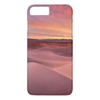 Dunas de areia cor-de-rosa, o Vale da Morte, CA Capa iPhone 8 Plus/7 Plus
