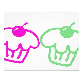 Duo dos cupcakes convites