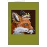 Duquesa o cartão da raposa