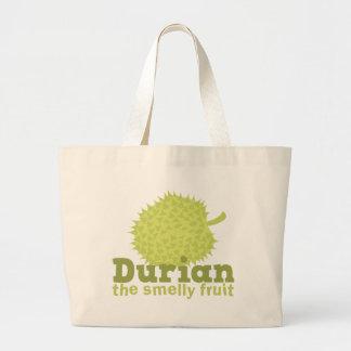 Durian a fruta smelly bolsa tote grande