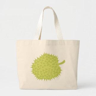 Durian a fruta Smelly! NP Bolsa Tote Grande