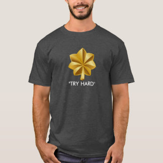 Duro principal da tentativa (CINZENTO) Camiseta