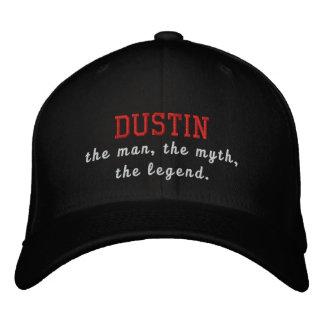 Dustin o homem, o mito, a legenda boné bordado