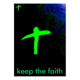 DZFZFH, mantêm a fé Modelo Cartoes De Visita