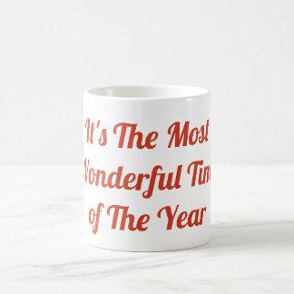 É a época a mais maravilhosa da caneca do ano