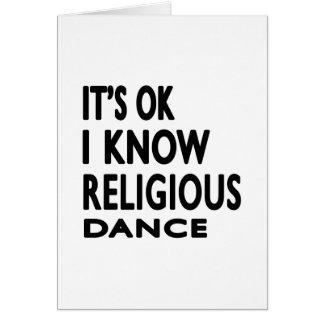 É APROVAÇÃO que eu sei a dança religiosa Cartao