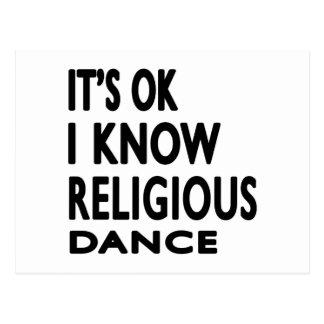 É APROVAÇÃO que eu sei a dança religiosa Cartao Postal