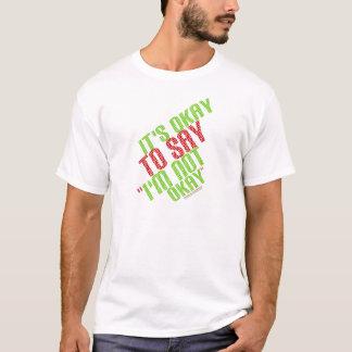 """É aprovado dizer que """"eu não sou aprovado """" camiseta"""