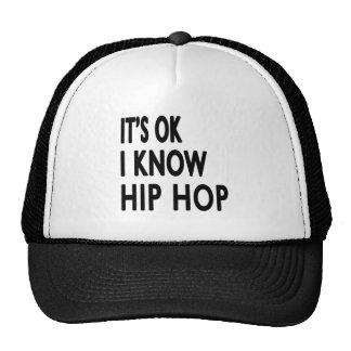 É APROVADO mim conhece Hip Hop Bonés