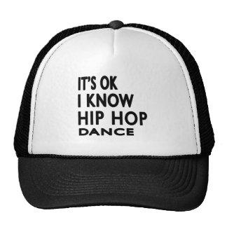 É aprovado mim sabe a dança de Hip Hop Boné
