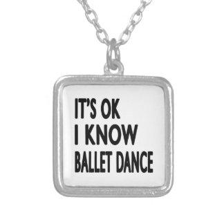 É aprovado mim sabe a dança do balé bijuteria