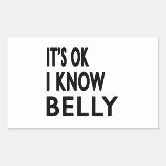 É aprovado mim sabe a dança do ventre adesivos em formato retangulares