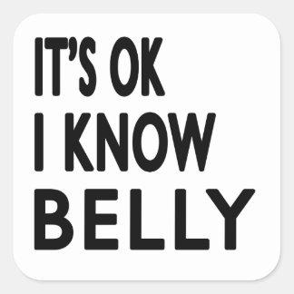 É aprovado mim sabe a dança do ventre adesivos quadrados