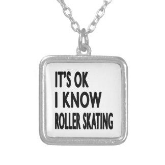 É APROVADO mim sabe a patinagem de rolo Colar Personalizado