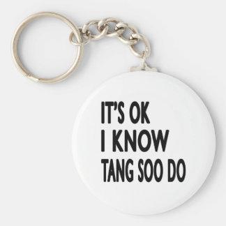 É aprovado mim sabe que Tang Soo faz Chaveiro