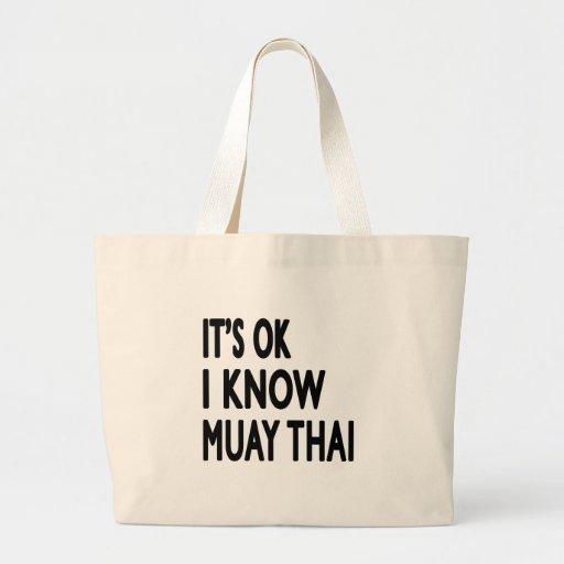 É aprovado mim sabe tailandês de Muay Bolsa Para Compras