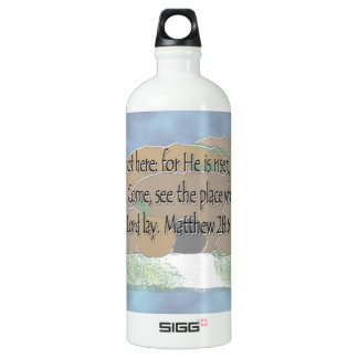 É aumentado - 28:6 de Matthew
