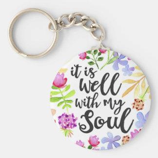 É bem com meu chaveiro da alma