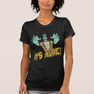 É camiseta viva de Frankenstein