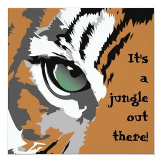 É convites de um tigre da selva