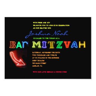 É ELÉTRICO!  Convite de Mitzvah do bar do SINAL DE
