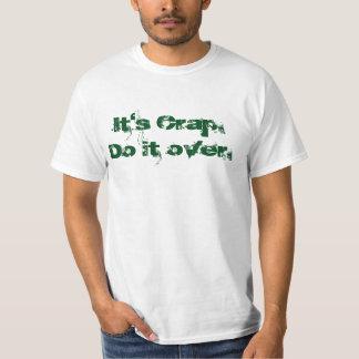 é excremento fá-lo sobre camiseta