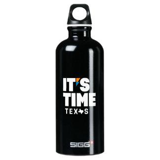 É garrafa de água de aço inoxidável de TEXAS do