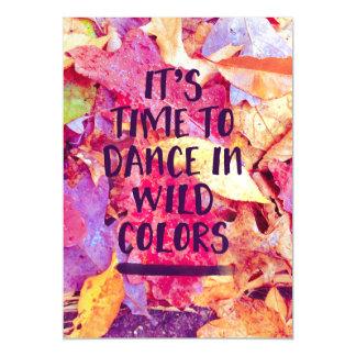 É hora de dançar