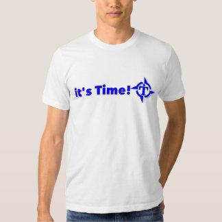 é hora de ser CORAJOSO Camiseta