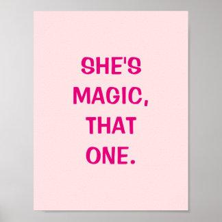 É mágica, esse um poster