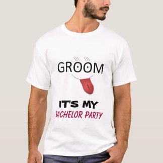 É MEU t-shirt do DESPEDIDA DE SOLTEIRO Camiseta