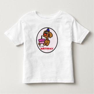 É minha camisa do filhote de cachorro do