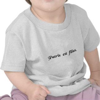 É o filho do seu pai camiseta